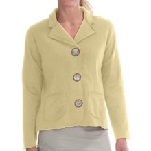 Neon Buddha Tin Button Travel Jacket (For Women) in Bamboo - Closeouts