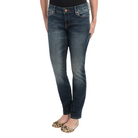 Lucky Brand Lily Sweet and Straight Denim Jeans (For Women)