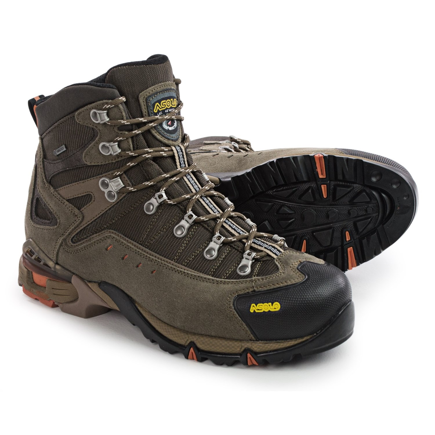 Asolo Flame Gore Tex 174 Hiking Boots For Men 9051c Save 37