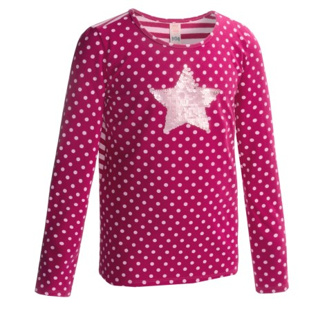 Penny Candy Lead Shirt - Stretch Cotton, Long Sleeve (For Girls)