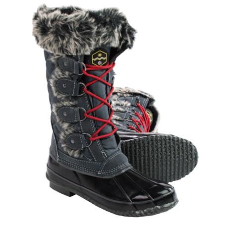 Khombu Jandice Pac Boots - Waterproof, Insulated (For Women)