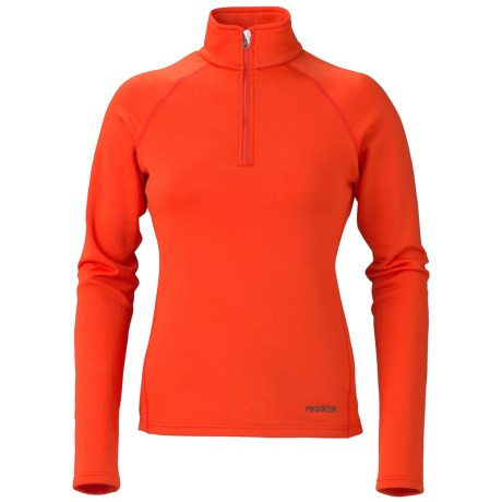 Marker Loveland Base Layer Top - Zip Neck, Midweight (For Women)