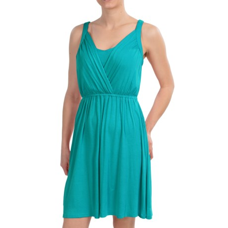 Wrap Bodice Dress - Sleeveless (For Women)