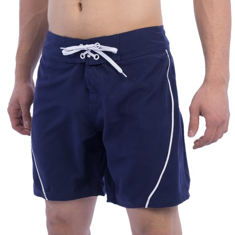 West Tie Front Boardshorts (For Men)