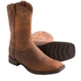 Justin Boots Stampede Cowboy Boots - Leather, Square Toe (For Men)