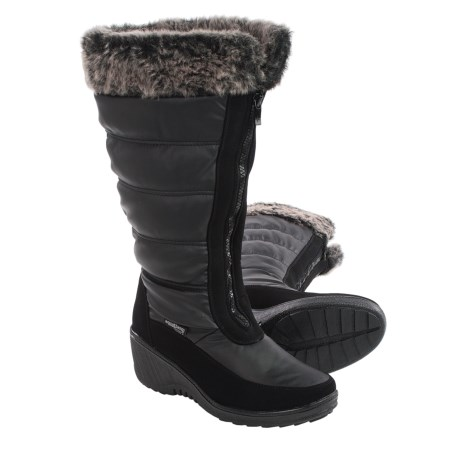 Aquatherm by Santana Canada Yule Snow Boots - Waterproof, Wide Calf (For Women)