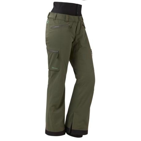 Marmot Jezebel MemBrain® Ski Pants - Waterproof, Insulated (For Women)