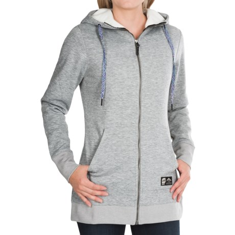 Orage Monday Hoodie - Zip Front (For Women)