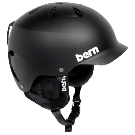 Bern Watts Ski Helmet with 8Tracks Audio (For Men)