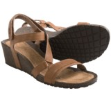 Teva Cabrillo Crossover Wedge Sandals - Leather (For Women)