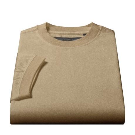 Tricots St. Raphael Double Mercerized Cotton T-Shirt - Short Sleeve (For Men)