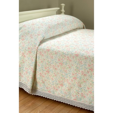 Lanz Never-Wear-Out Bedspread - Cotton Twill, Queen