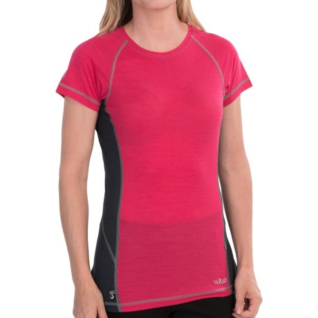 Rab Meco 120 Base Layer Top - Short Sleeve (For Women)