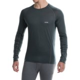 Rab Meco 120 Lightweight Base Layer Top - Crew Neck, Long Sleeve (For Men)