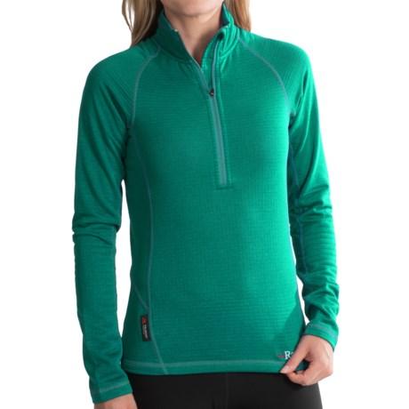Rab AL Polartec® Power Dry® Shirt- Zip Neck, Long Sleeve (For Women)