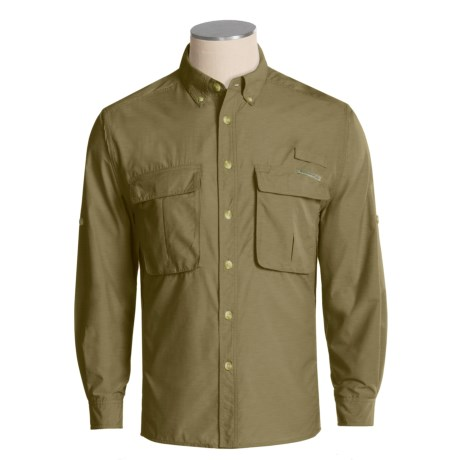 ExOfficio Air Strip Lite Shirt - UPF 30+, Long Sleeve (For Men)