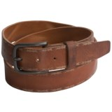 Will Leather Goods Reid Belt - Embossed Leather (For Men)