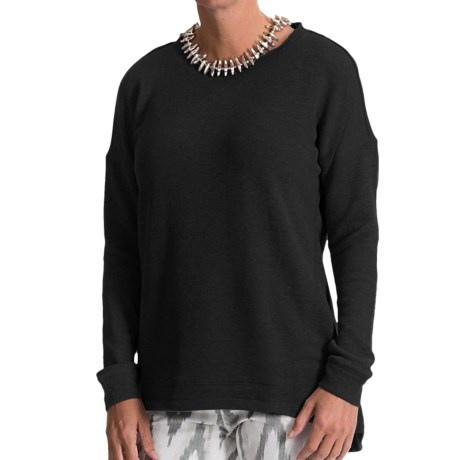 Weekend by Andrea Jovine French Terry Shirt - Long Sleeve (For Women)