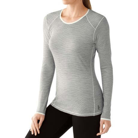 SmartWool NTS 150 Micro Pattern Base Layer Top - Merino Wool, Long Sleeve (For Women)
