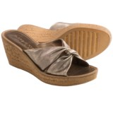 The Flexx Sidestep Wedge Sandals (For Women)