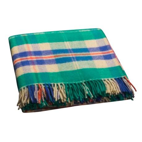 Johnstons of Elgin Lambswool Throw Blanket