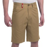 """Jetty Standard Fit Stretch Chino Shorts - 21"""" (For Men)"""