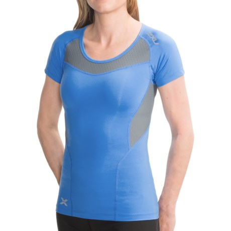 2XU Compression T-Shirt - Short Sleeve (For Women)