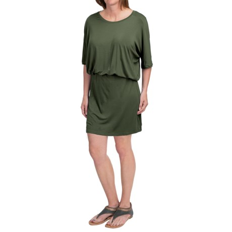 NAU Repose Dress - Micromodal®, Short Sleeve (For Women)