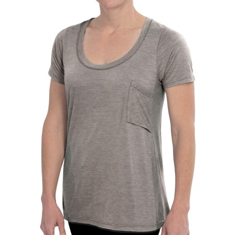 NAU M2 T-Shirt - Merino Wool, Short Sleeve (For Women)