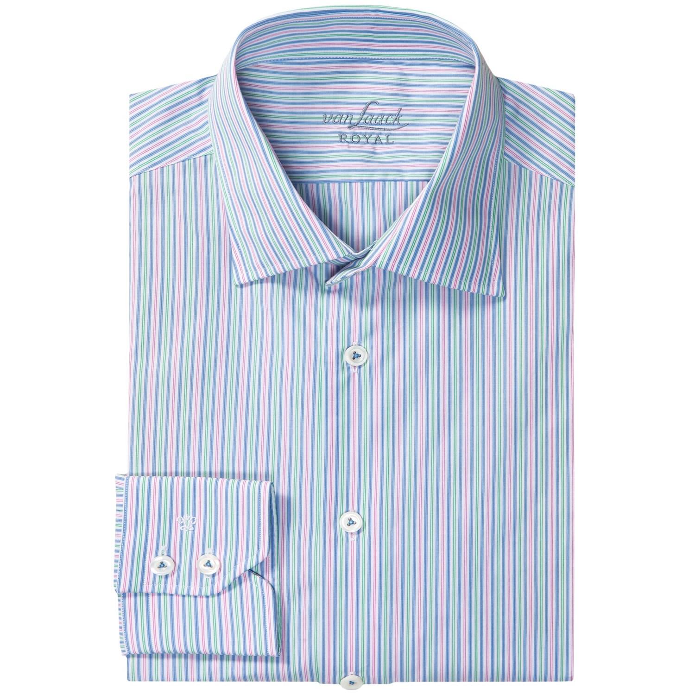 van laack ret fancy dress shirt for men 9160h save 71. Black Bedroom Furniture Sets. Home Design Ideas