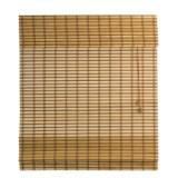 Versailles Two-Tone Bamboo Roman Shade - 27x48""