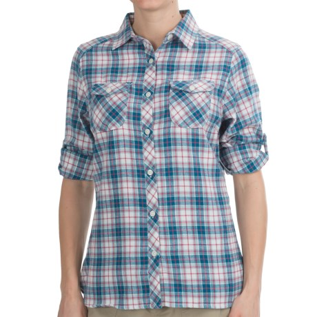 Craghoppers Kiwi Check Flannel Shirt - Long Sleeve (For Women)