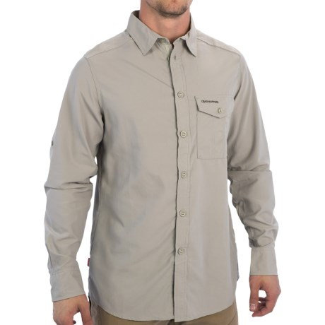 Craghoppers NosiLife Explorer Trek Shirt - UPF 40+, Long Sleeve (For Men)