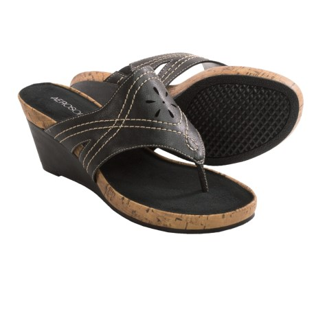 Aerosoles Take Flight Sandals - Wedge Heel (For Women)