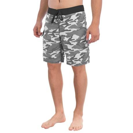 Gotcha Camo Print Boardshorts (For Men)