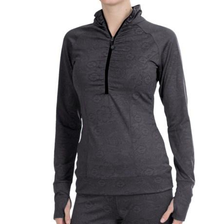 Soybu Maura Shirt - Zip Neck, Long Sleeve (For Women)