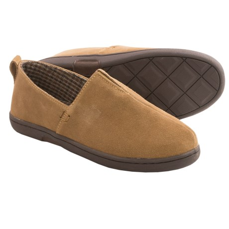 L. B. Evans Everett Suede Slippers (For Men)