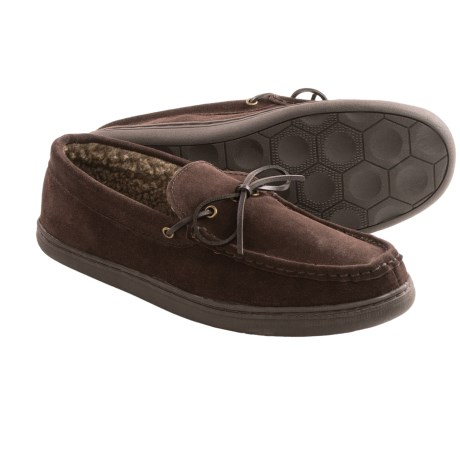 Hush Puppies Northern Oak Suede Slippers (For Men)
