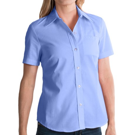 Dickies Stain-Resistant Pocket Work Shirt - Short Sleeve (For Women)