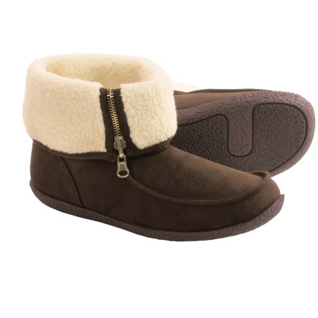 Hush Puppies Bitterroot Zip Slipper Boots (For Women)