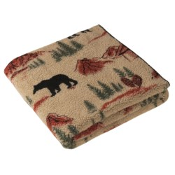 Woolrich Cedar Run Throw Blanket - Berber