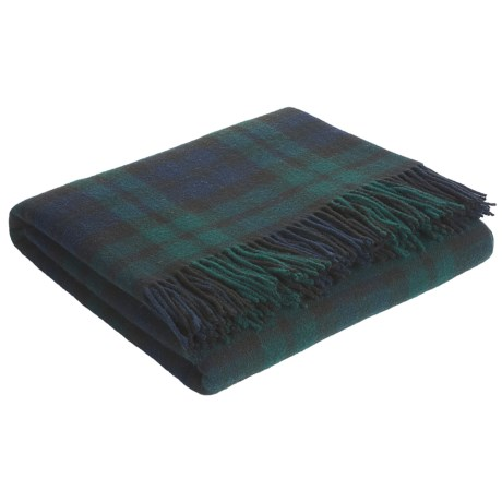 Johnstons of Elgin Lambswool Travel Blanket