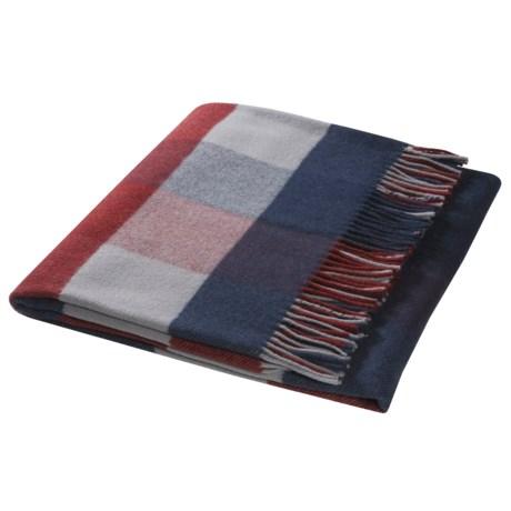 Johnstons of Elgin Lambswool Travel Blanket