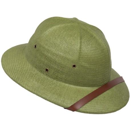 Dorfman Pacific Pith Helmet Hat - Toyo Straw (For Men and Women)