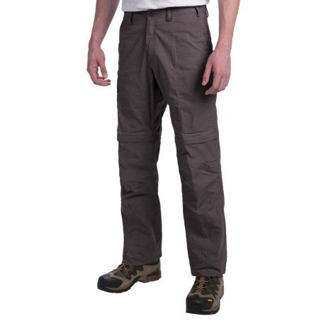 Fjallraven Karl Convertible Pants - UPF 50+, Zip-Off Legs, Waxed Canvas (For Men)