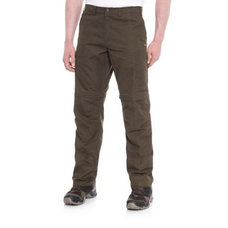 Fjallraven Karl Convertible Pants - UPF 50+, Zip-Off Legs, Waxed Canvas (For Men)