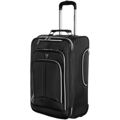 "Olympia Hamburg Expandable Carry-On Bag - 22"""