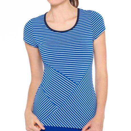Lole Curl T-Shirt - UPF 50+, Short Sleeve (For Women)