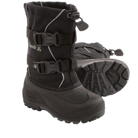 Kamik Grandslam Pac Boots - Waterproof (For Little Kids)