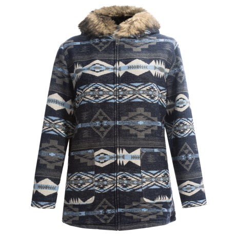 KC Collections Anorak Coat (For Plus Size Women)